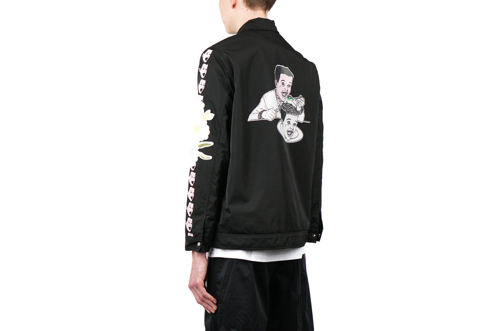 EMBROIDERY COACH JACKET
