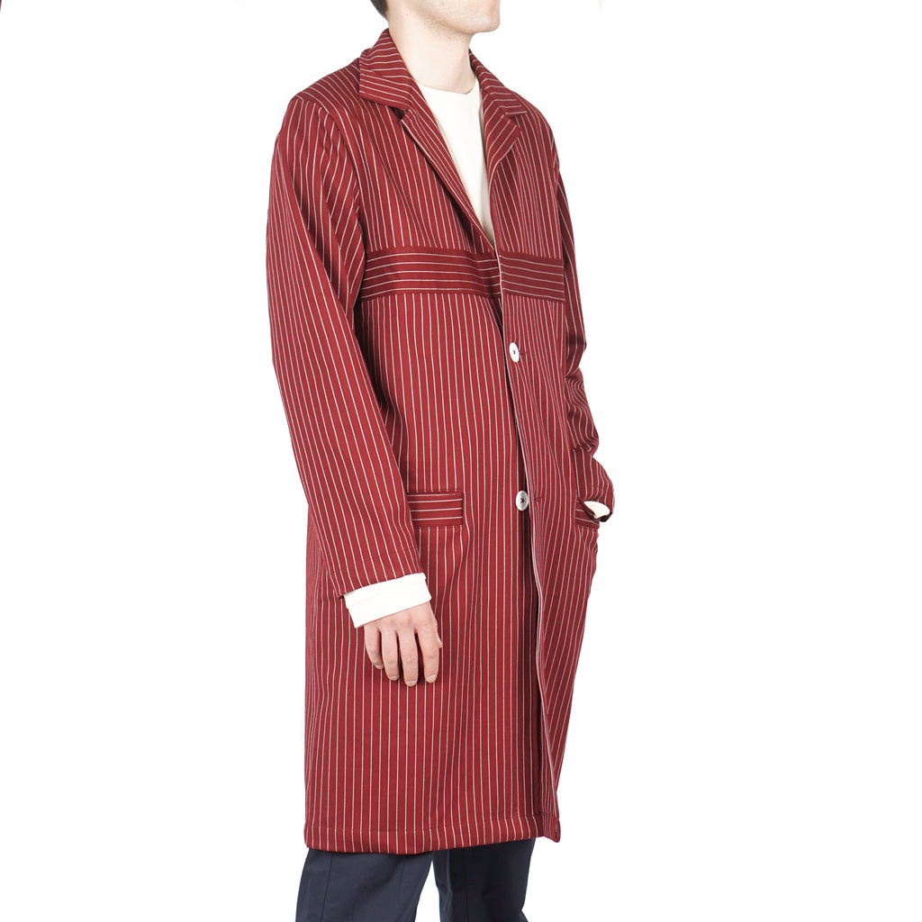 STRIPY LONG COAT