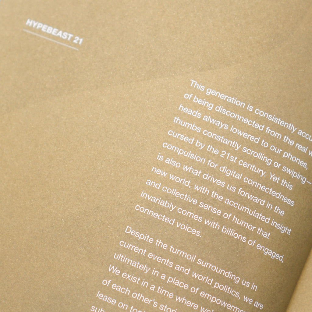 HYPEBEAST MAGAZINE ISSUE #21: THE RENAISSANCE ISSUE