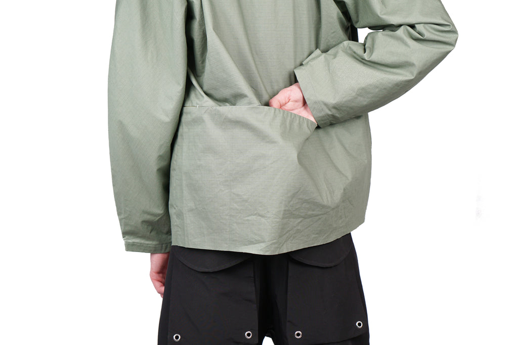 "RIPSTOP JACKET ""LIGHT GREEN"""