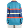 "STRIPE MONOGRAM KNIT CREWNECK ""MIDNIGHT"""