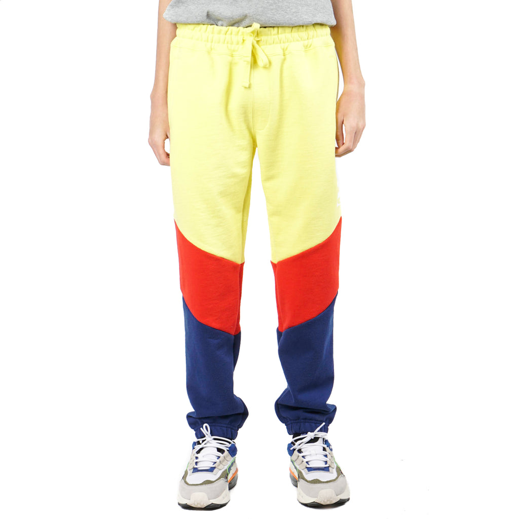 COLOR BLOCKED SWEATPANTS