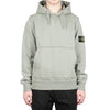 "COTTON FLEECE HOODED SWEATSHIRT ""SAGE GREEN"""