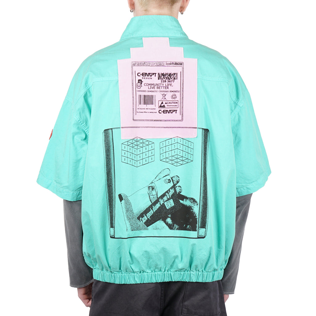 SHORT SLEEVE JACKET