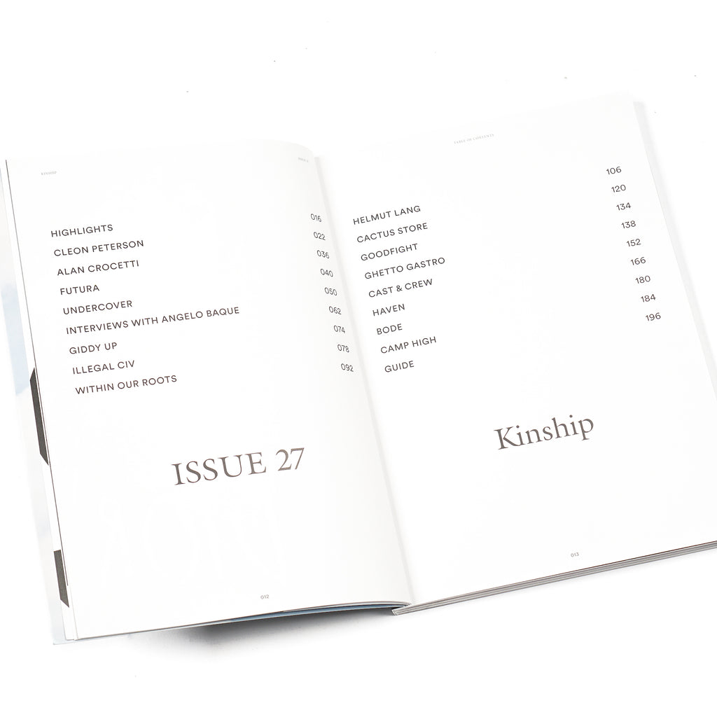 HYPEBEAST MAGAZINE ISSUE #27: THE KINSHIP ISSUE
