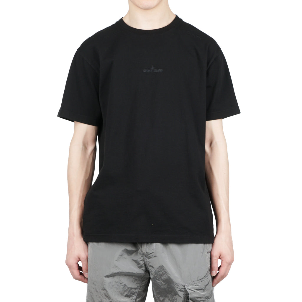 'GRAPHIC SEVEN' SHORT SLEEVE COTTON JERSEY TEE