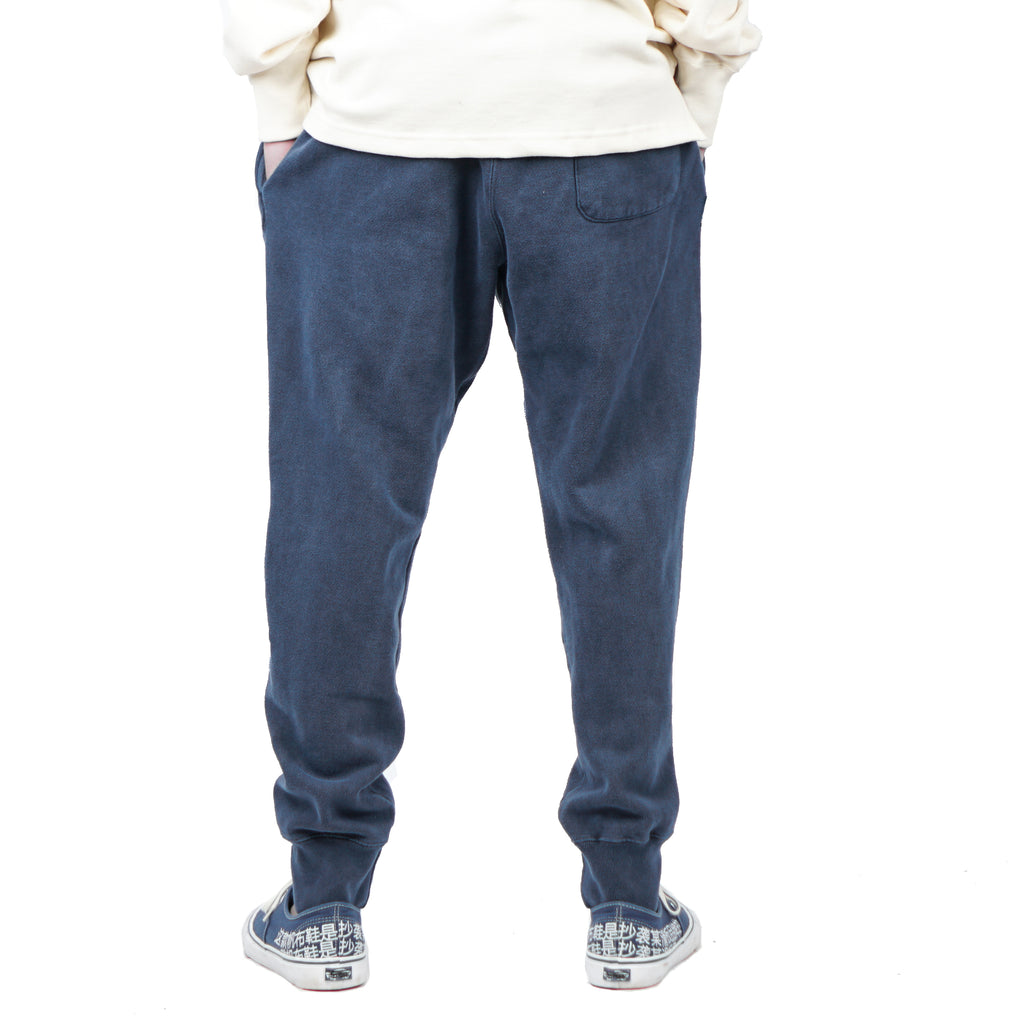 "OVERDYED JOGGER PANTS ""NAVY"""