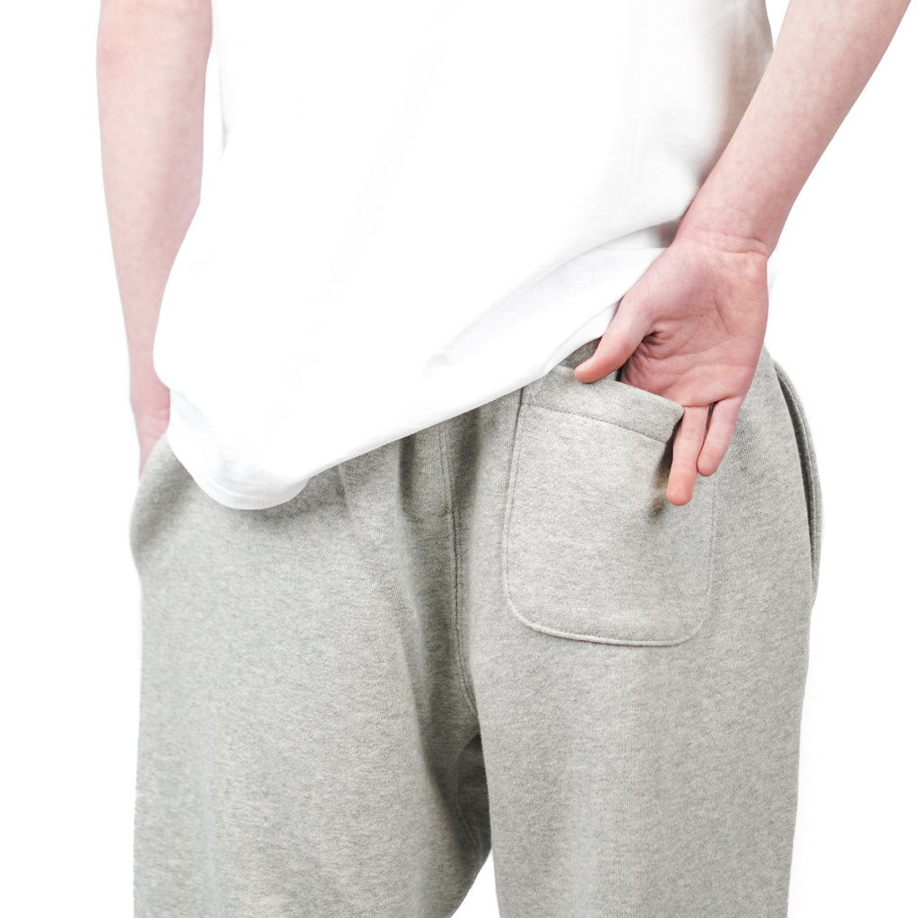 "REVERSE WEAVE JOGGER ""GREY"""