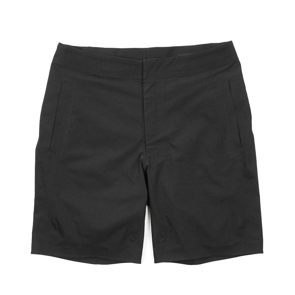 "REGULAR FIT STRETCH SHORTS ""BLACK"""