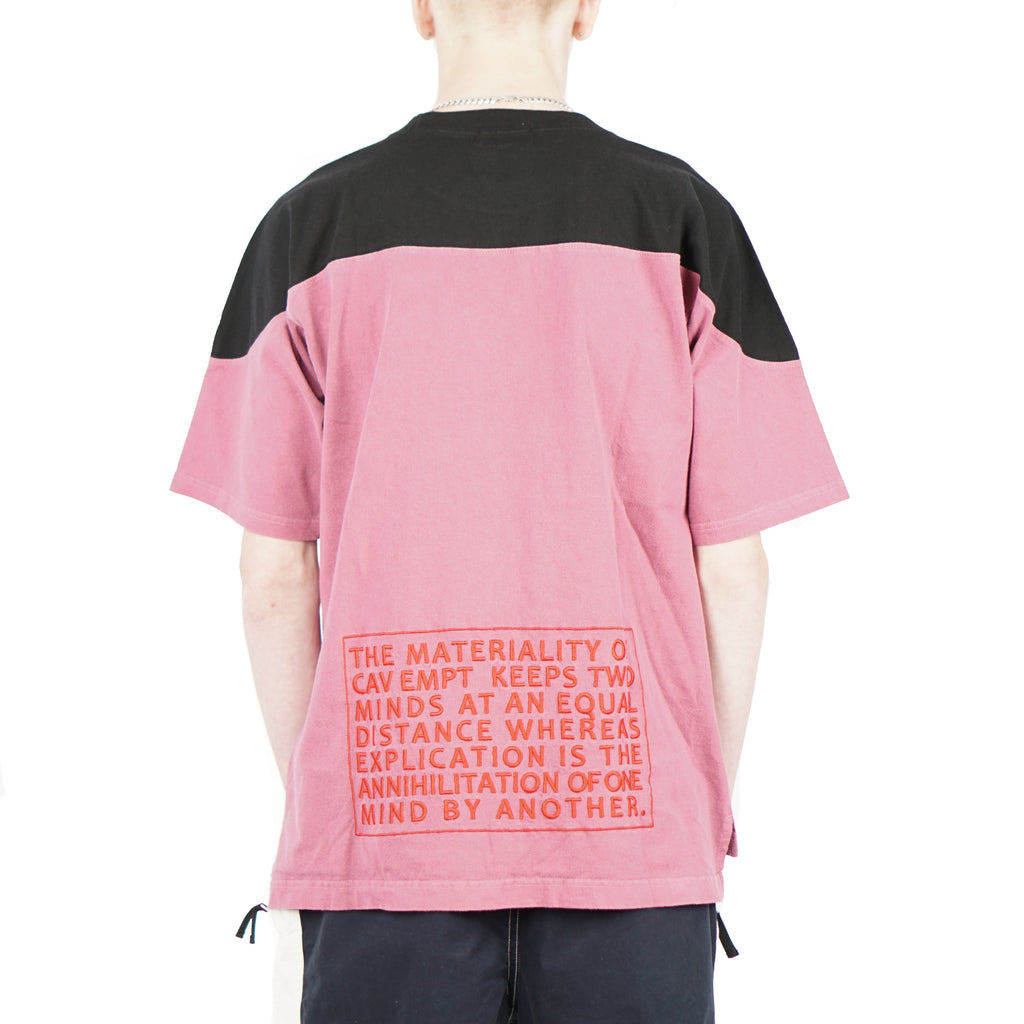 OVERDYED FOOTBALL TEE