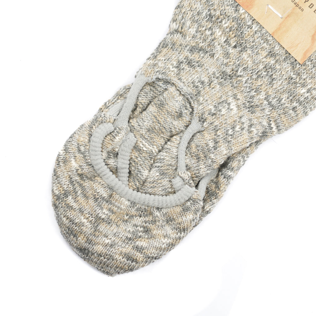 "ZAKKO SOCKS ""BEIGE MIX"""