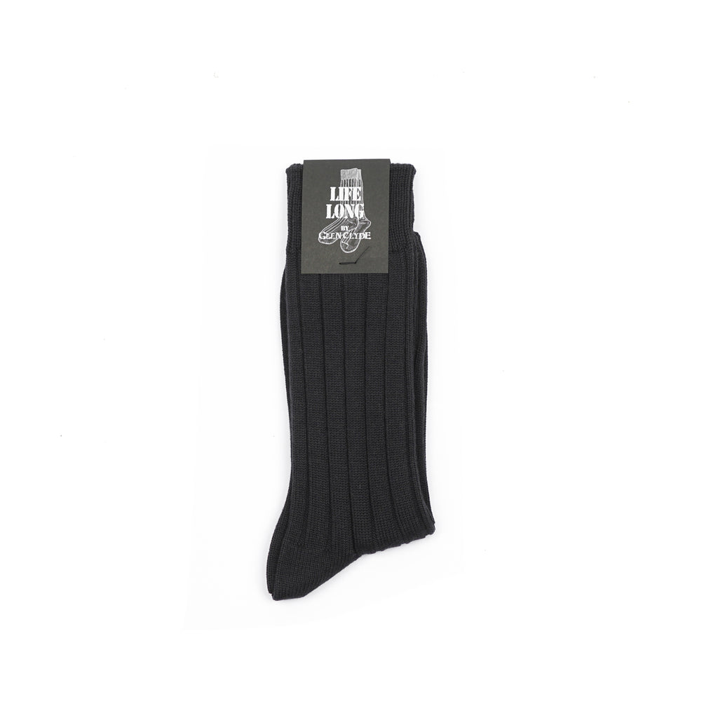 "LIFE LONG CORDURA CREW SOCKS ""NAVY"""