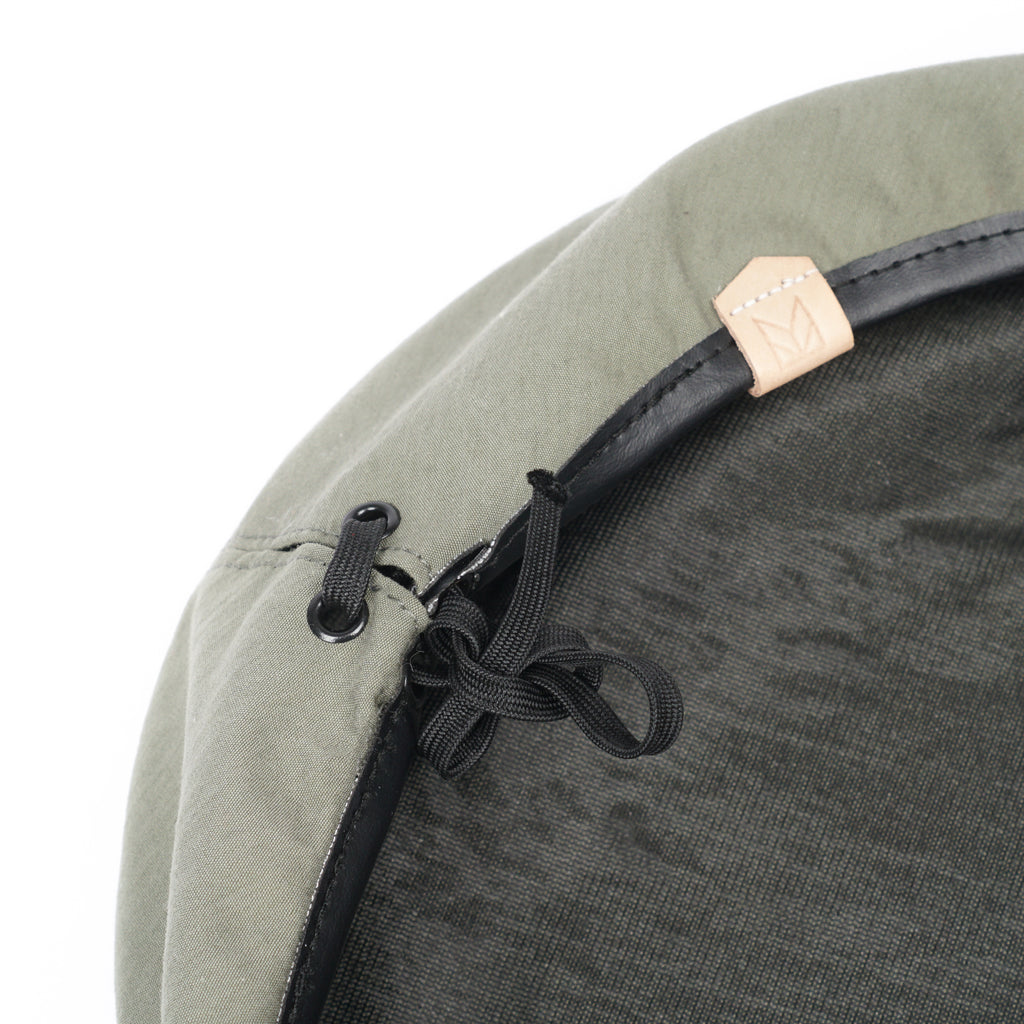 "WEATHERCLOTH BERET ""OLIVE"""