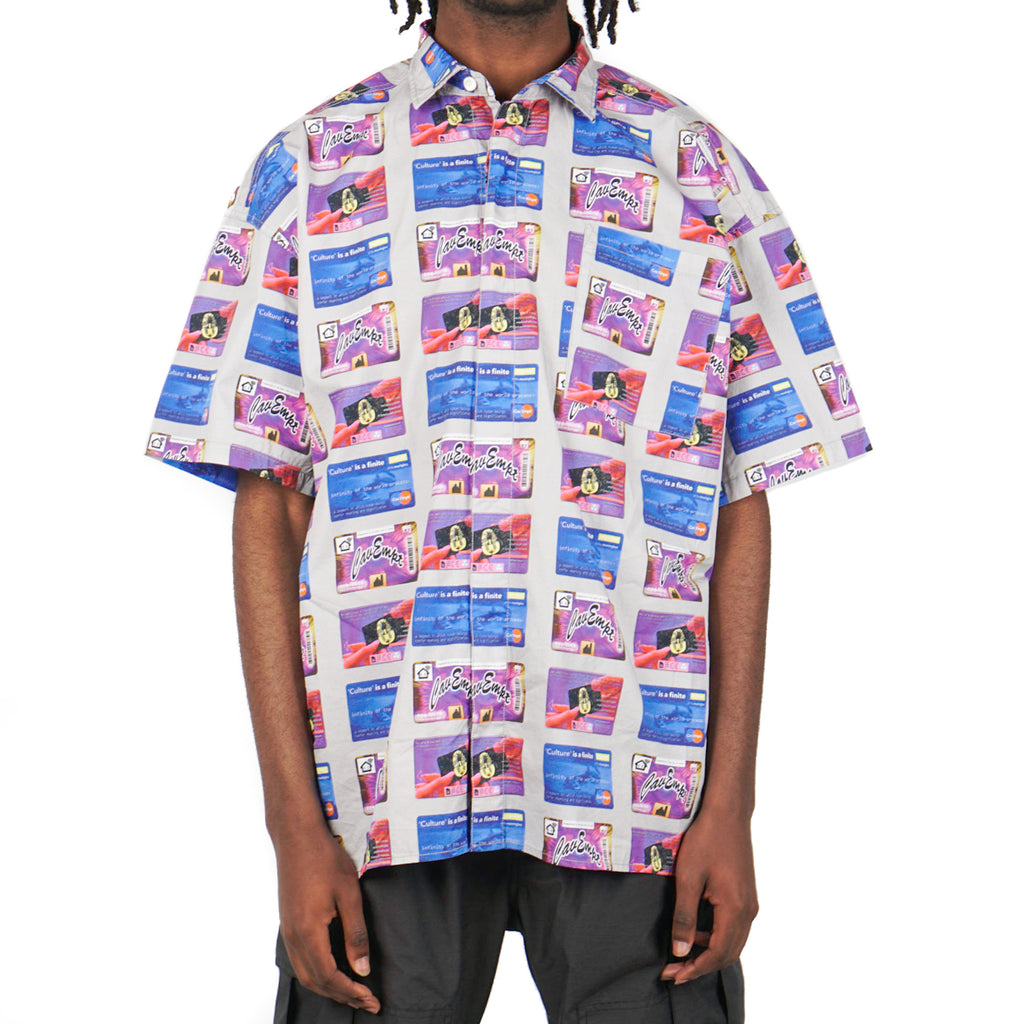 CARD SHORT SLEEVE SHIRT