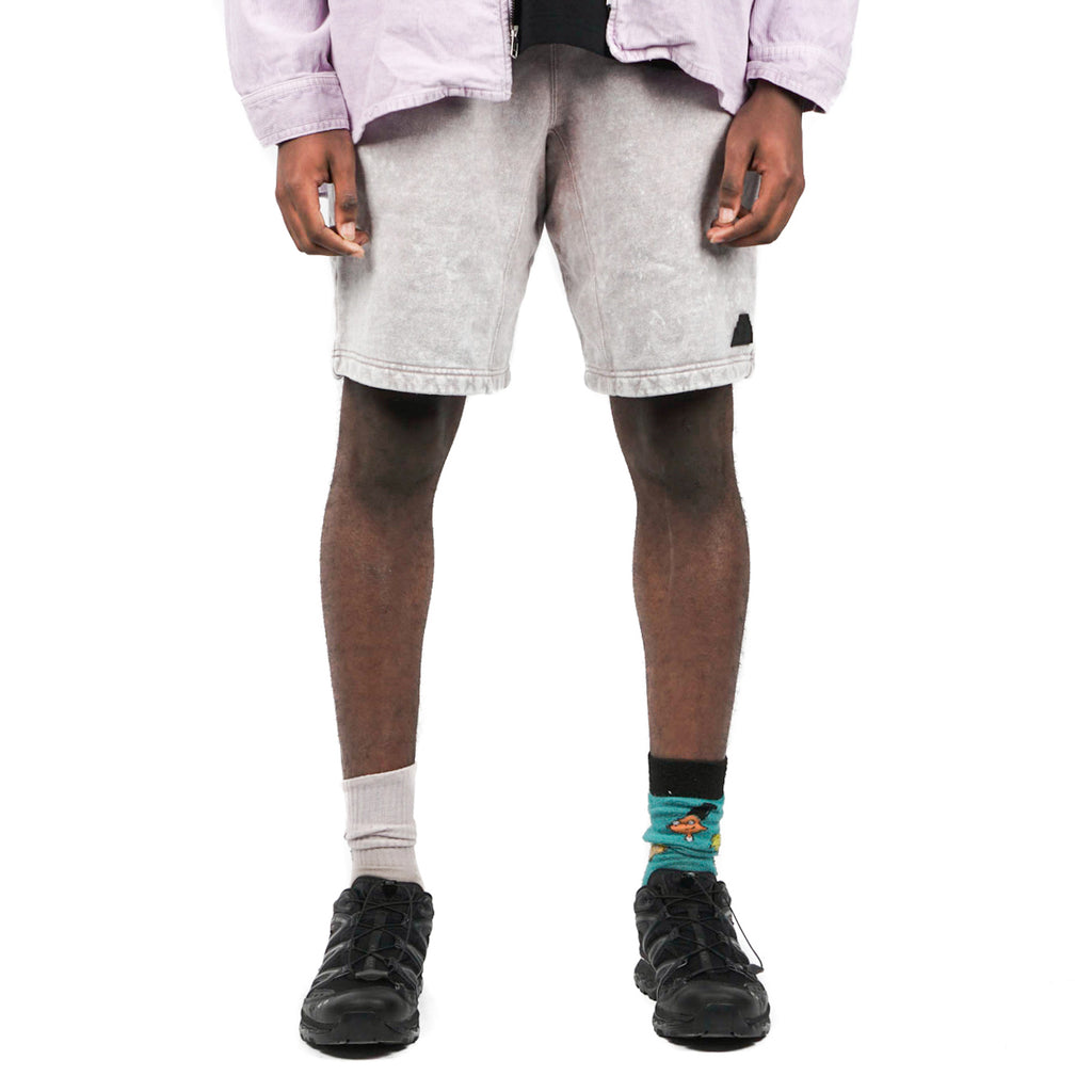 BLEACHED SWEAT SHORTS