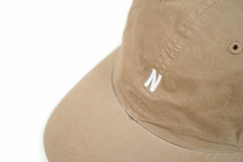 "LIGHT TWILL SPORTS CAP ""KHAKI"""