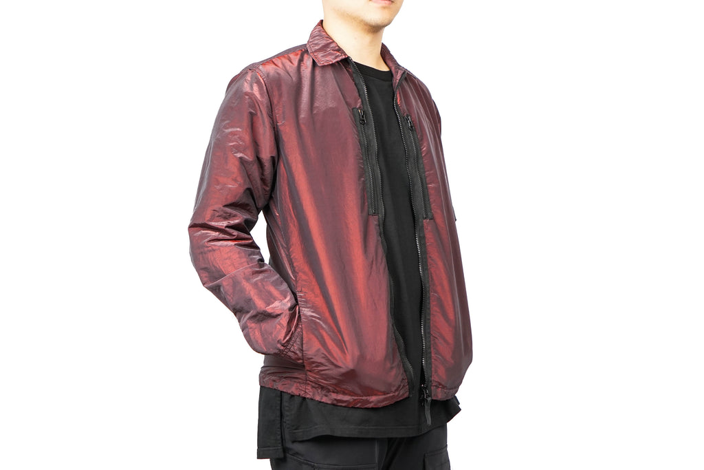 NYLON METAL SHIRT JACKET