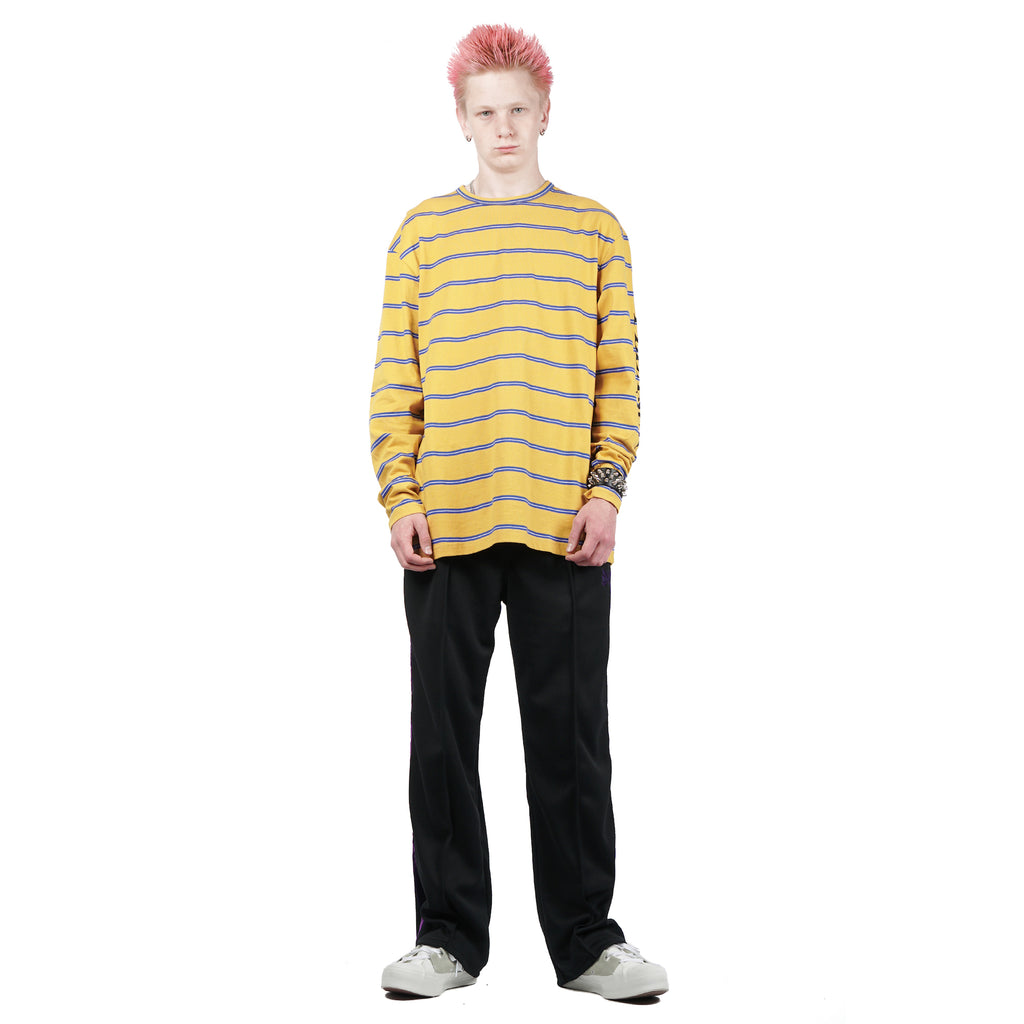 "SCREAM STRIPED LS ""MUSTARD"""