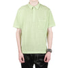 "MESH COTTON KNIT POLO ""LIME"""