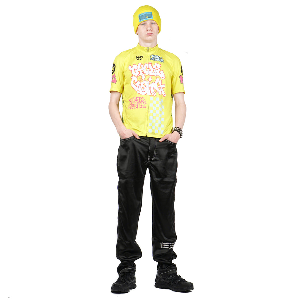 "CYCLE GANG JERSEY ""YELLOW"""
