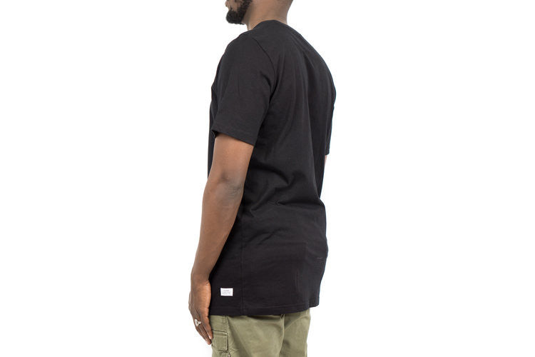 "CENTER LOGO TEE ""BLACK"""