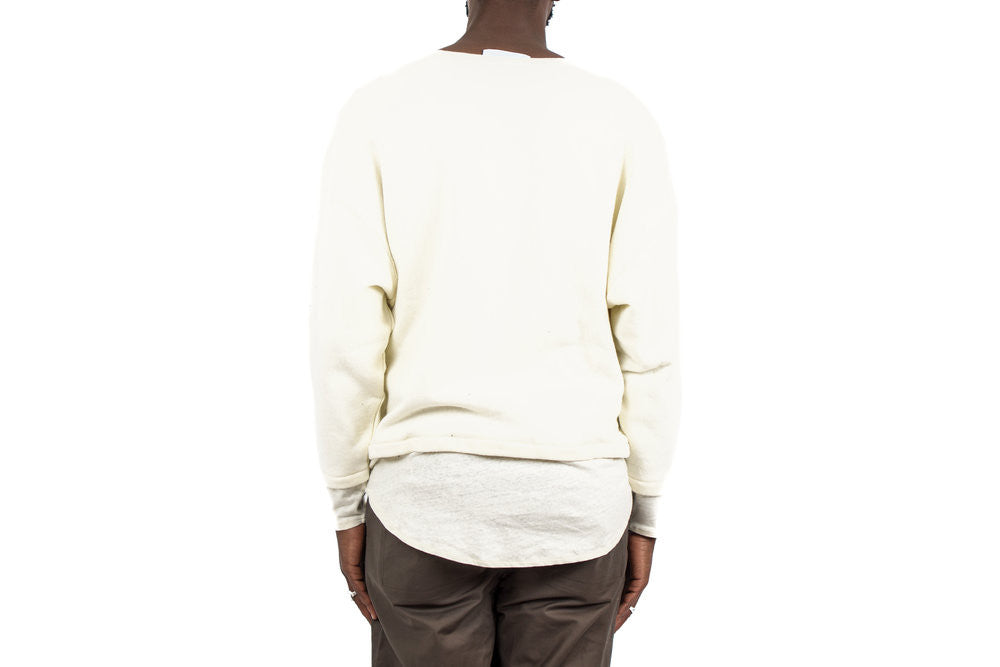 "VIPE KNIT TOPS ""OFF WHITE"""