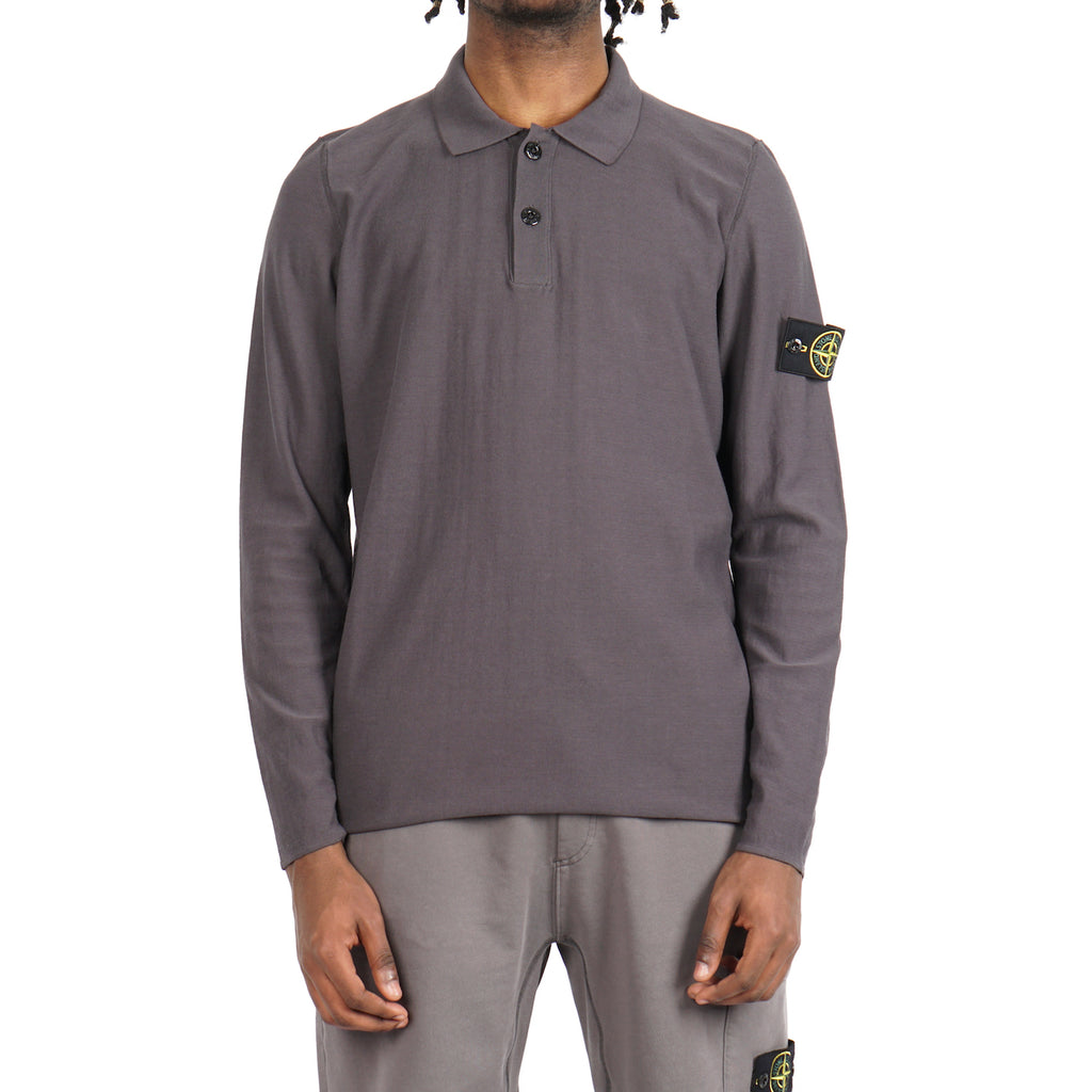 TWISTED LT COTTON L/S POLO