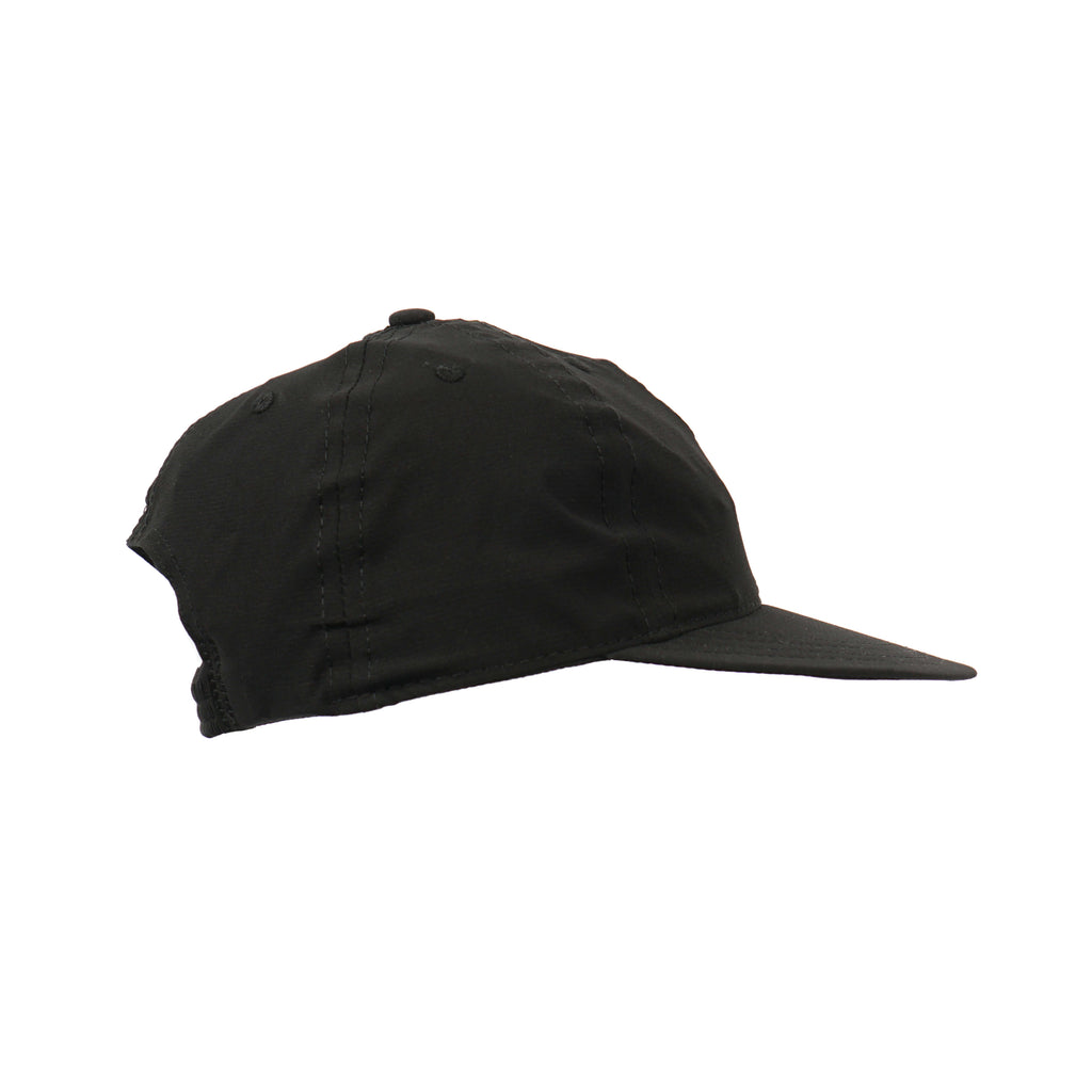 "STRETCH FLOPPY BALL CAP ""BLACK"""