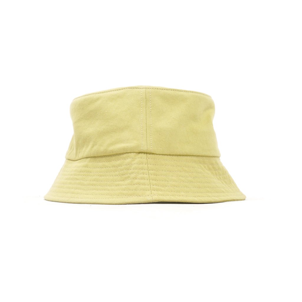 "TWILL BUCKET HAT ""CHARTREUSE GREEN"""