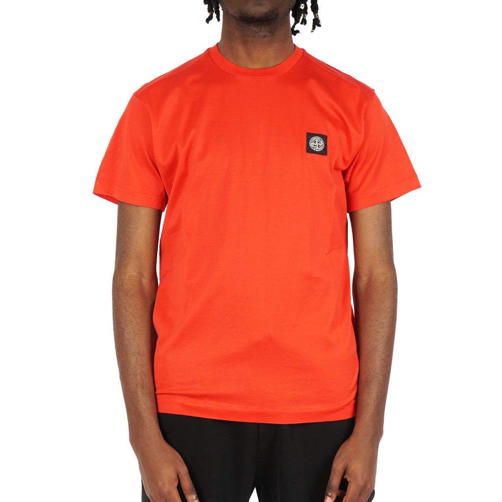 GARMENT DYED COTTON JERSEY SHORT SLEEVE TEE