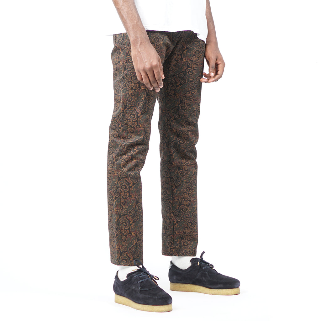 PAISLEY TWILL JEANS