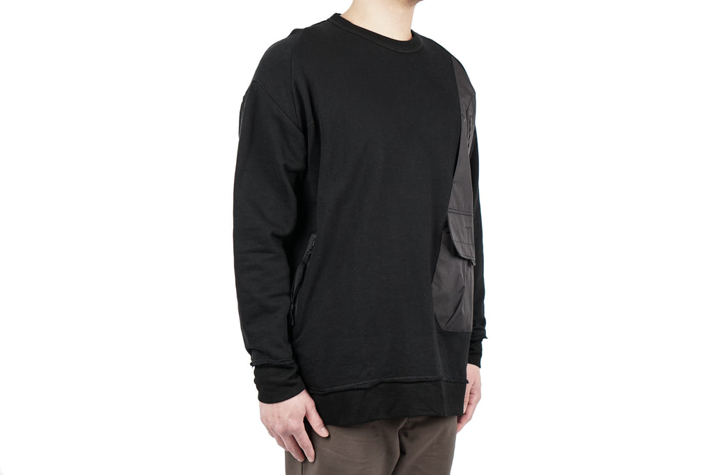 DISPLACEMENT VEST CREWNECK 02