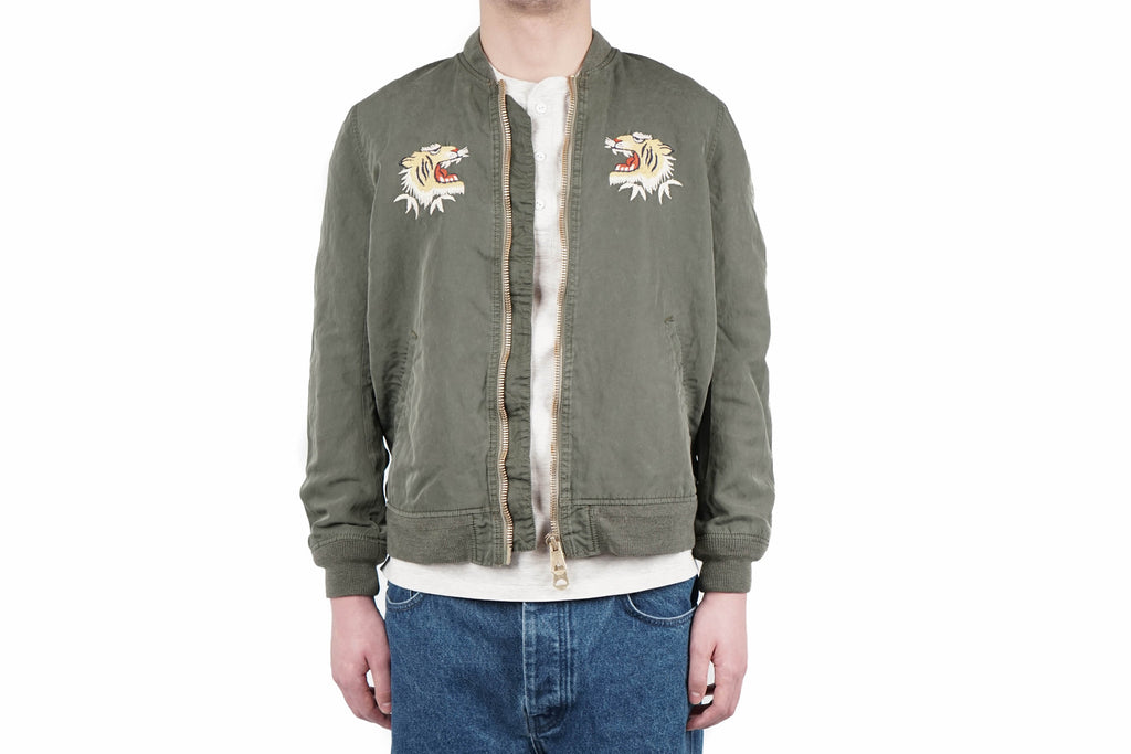 NYLON 66 BOMBER JACKET (TIGER)