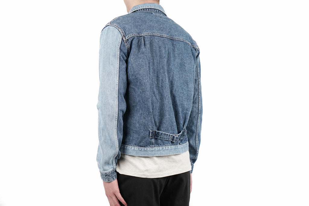 "1ST DENIM JACKET (REMAKE) ""USED BLUE"""