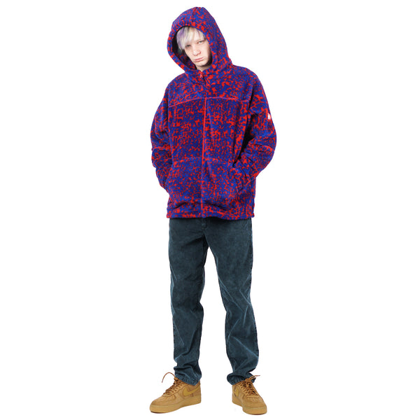 NOISE FLEECE ZIP HOODY