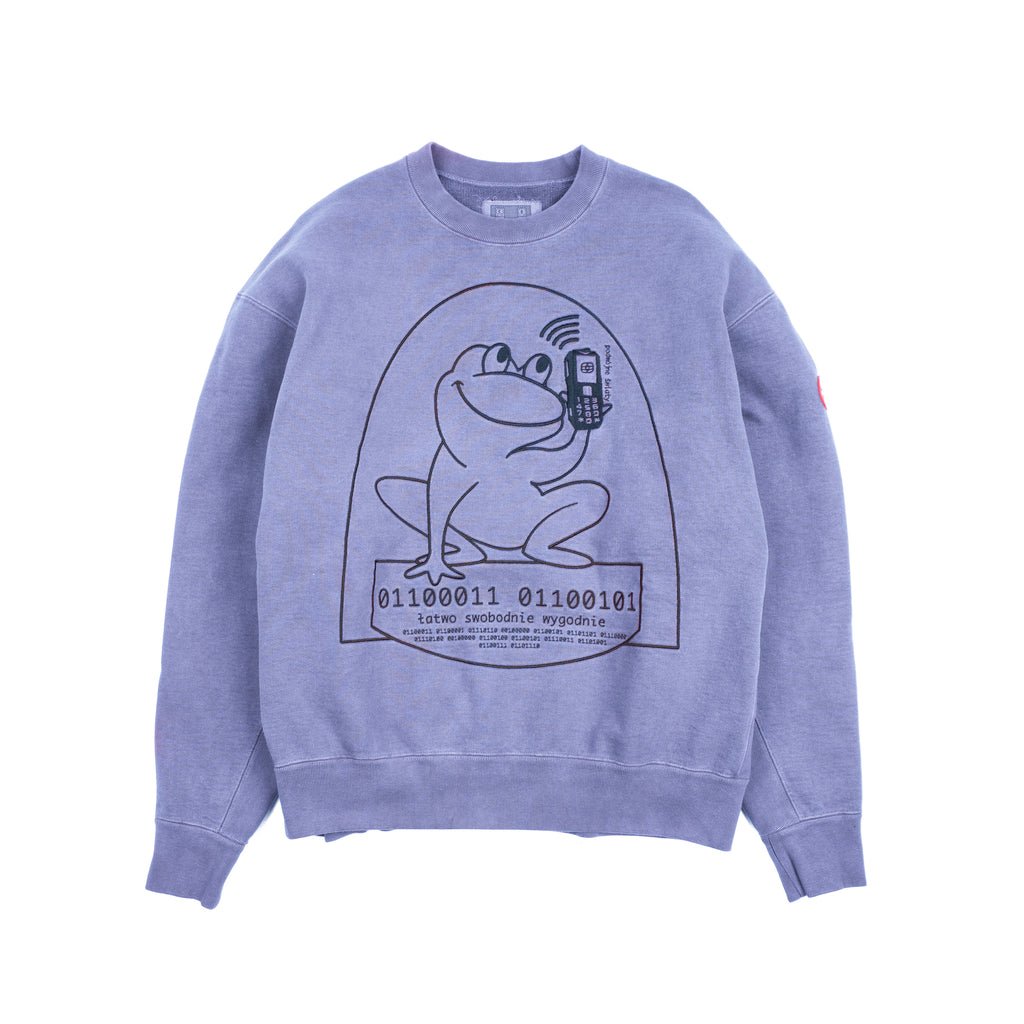 OVERDYE EASILY COMFORTABLE CREWNECK