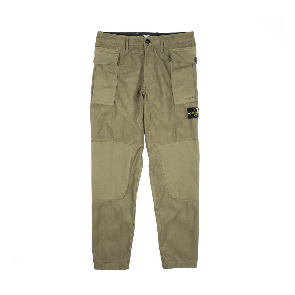 BRUSHED COTTON RIPSTOP PANTS