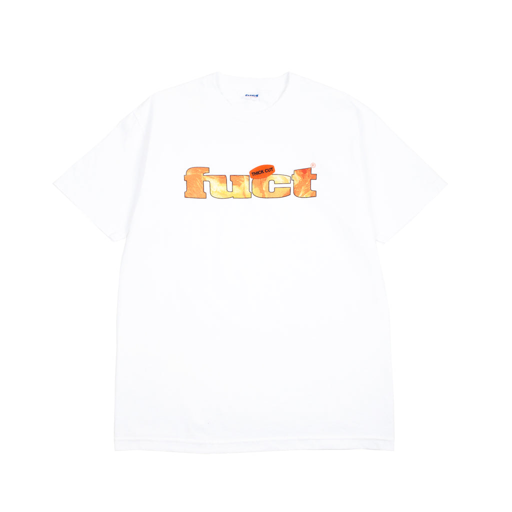 "THICK CUT T-SHIRT ""WHITE"""