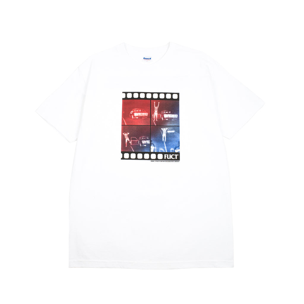 "PULLED OVER T-SHIRT ""WHITE"""