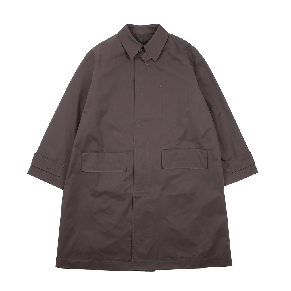 "NYMIL CAR COAT ""DARK BROWN"""