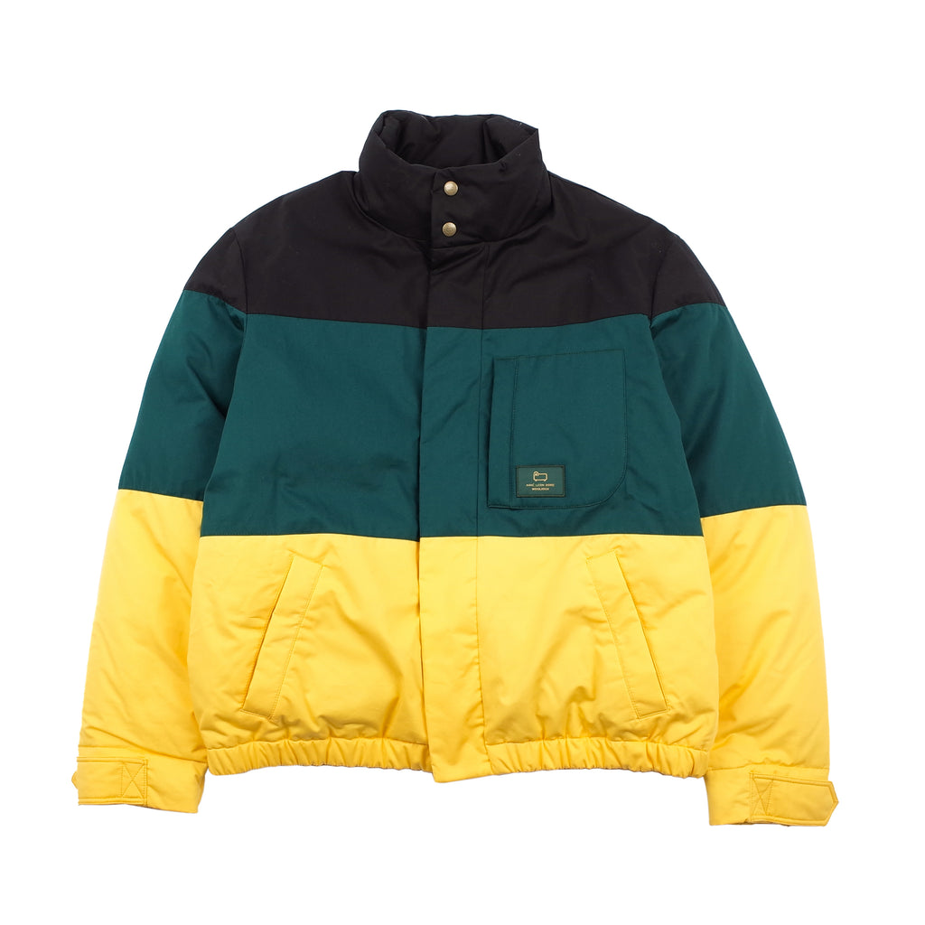 WOOLRICH COLORBLOCK DOWN JACKET