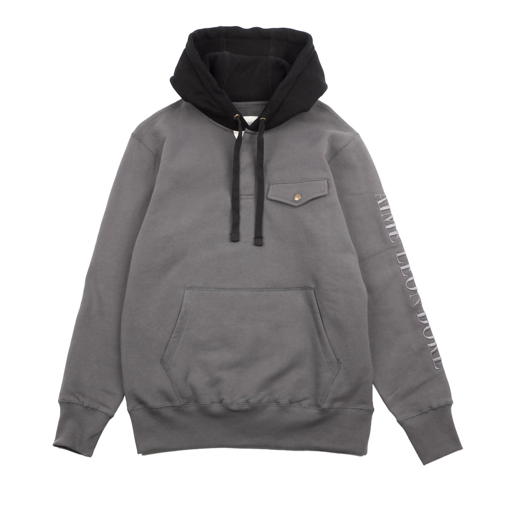 17OZ TERRY HOODED RUGBY