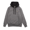 "17OZ TERRY HOODED RUGBY ""ASPHALT"""