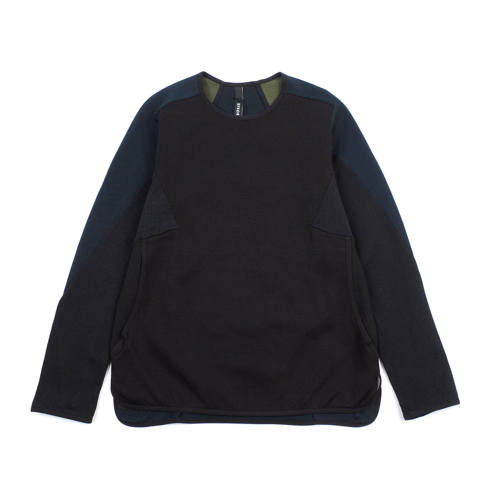 "WEIGHT MAP SWEATER ""BLACK/OBSIDIAN"""