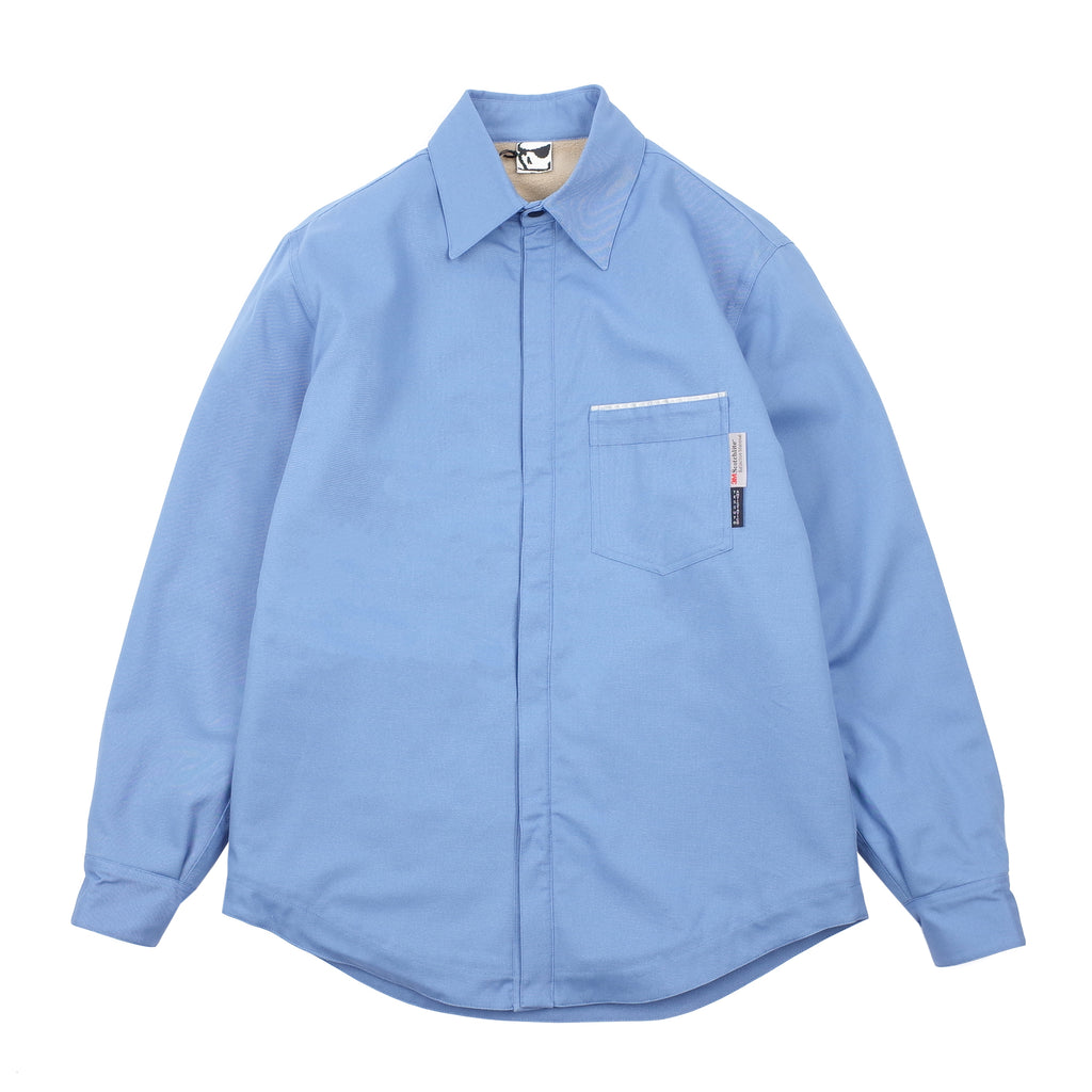 "ANTISTATIC POLARTEC OVERSHIRT ""BLUE"""
