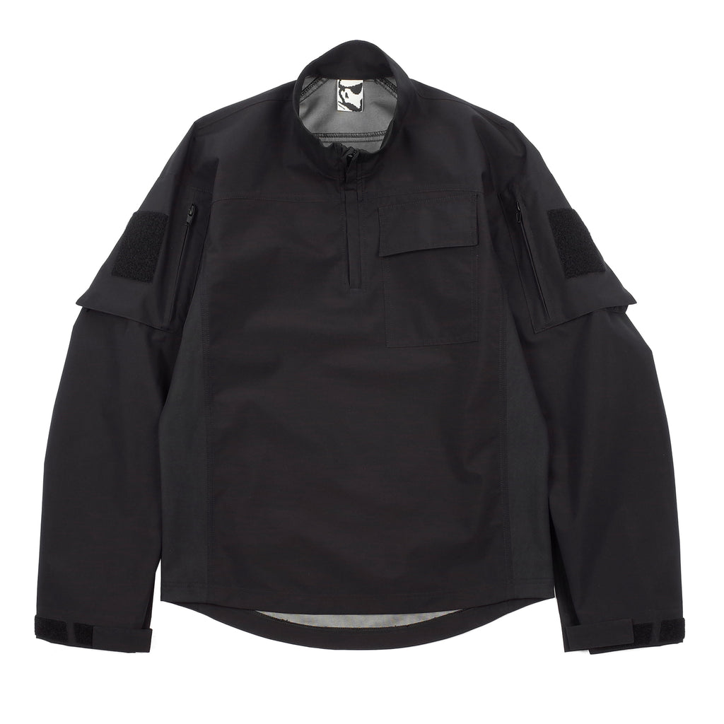 "GORE-TEX FRONTLINE SOFTSHELL PULLOVER ""BLACK"""
