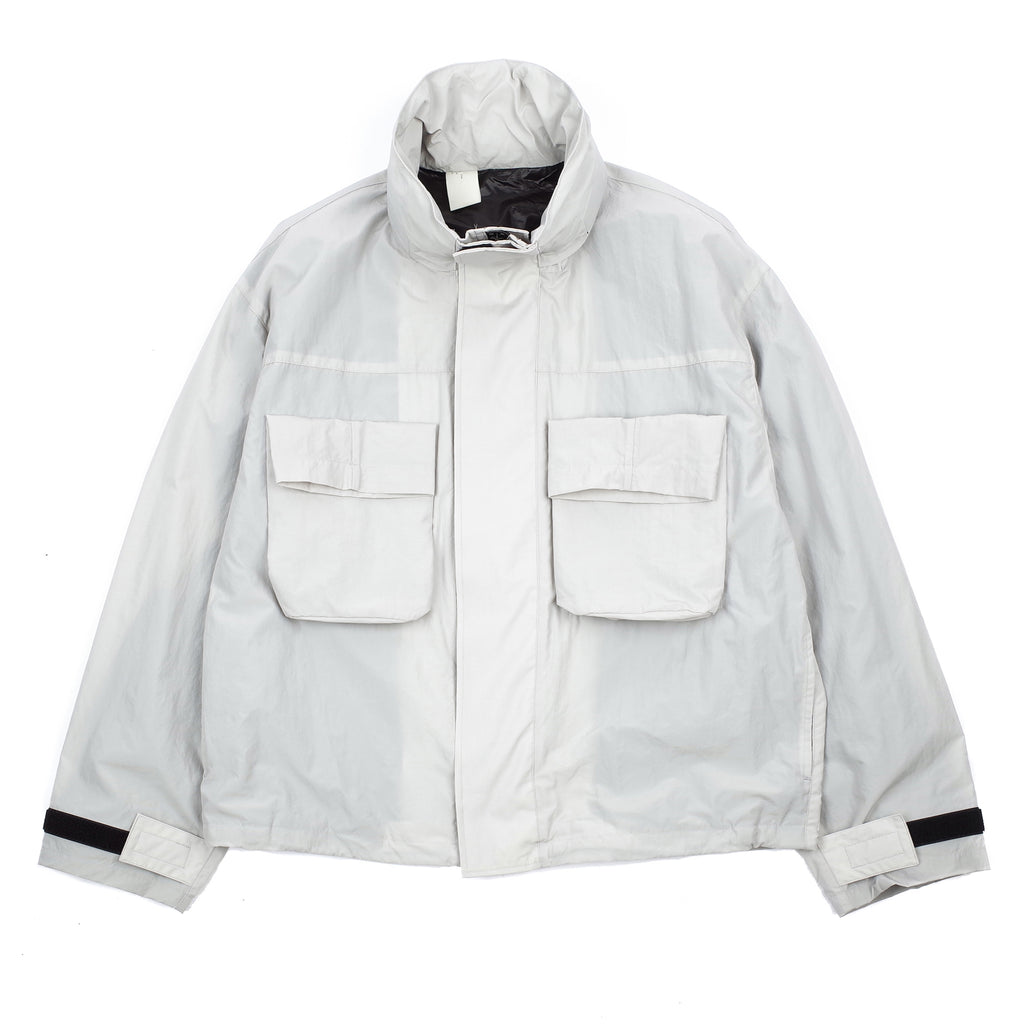 "PATCH POCKET JACKET ""GREY"""