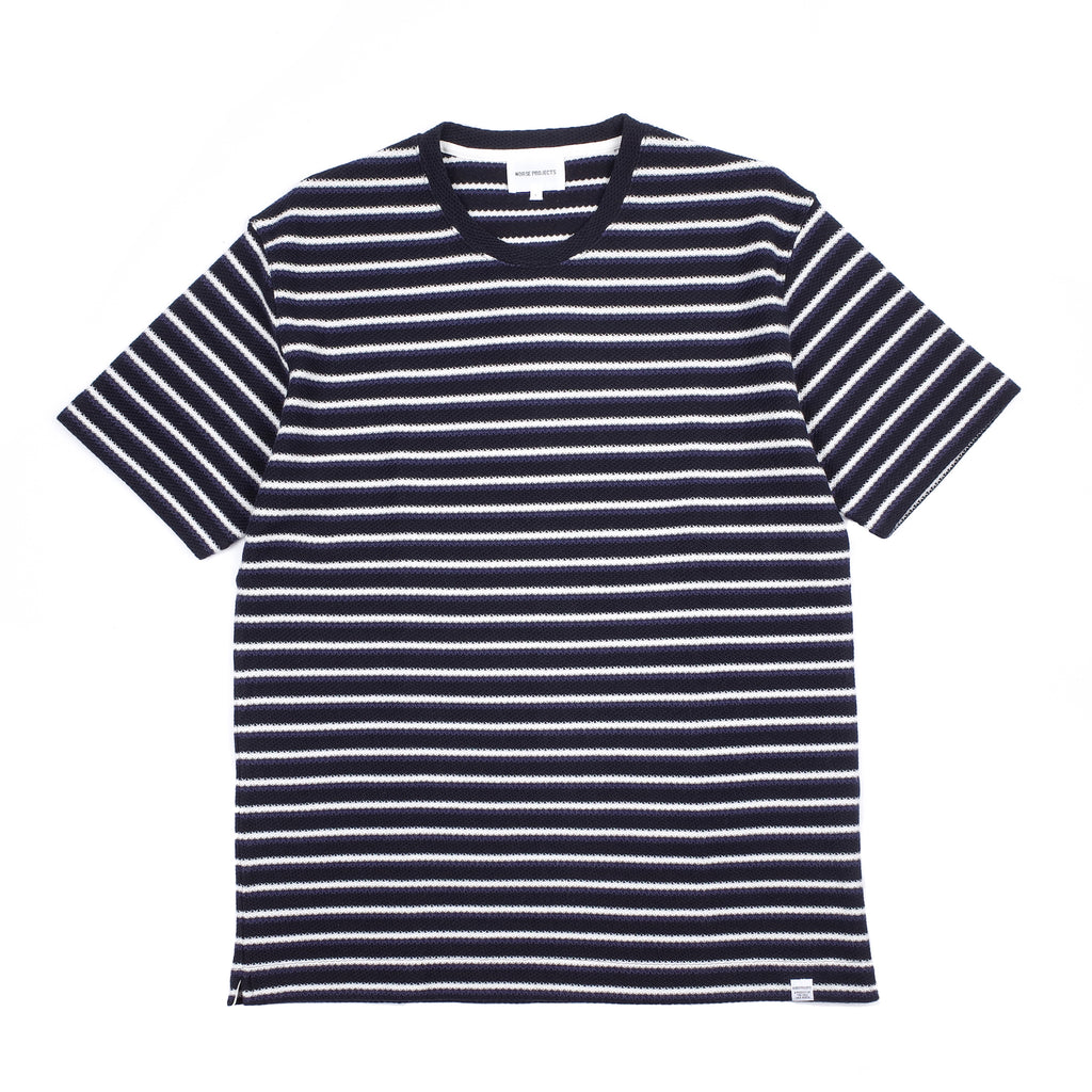 "JOHANNES JACQUARD STRIPE ""TWILIGHT BLUE"""