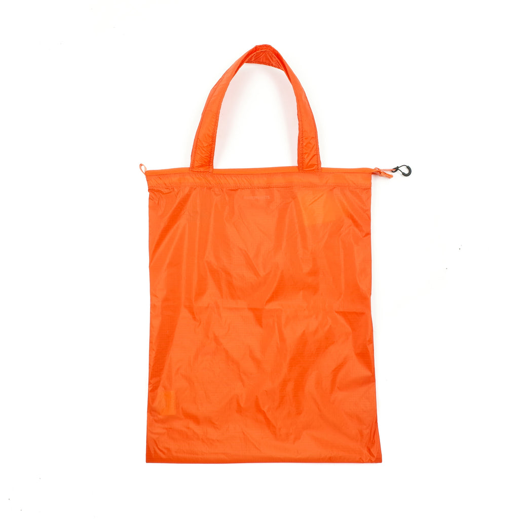 "PACKABLE TOTE ""OXIDE ORANGE"""