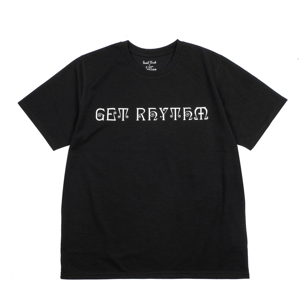 "GET RHYTHM CREW NECK TEE ""BLACK"""
